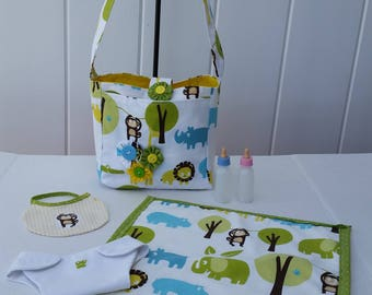 Dolly Diaper Bag With Accessories