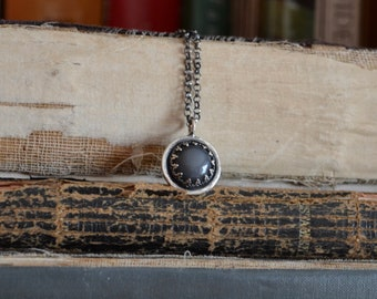 Grey Moonstone Necklace
