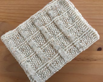 Lattice Baby Blanket  ~Knitting pattern PDF.
