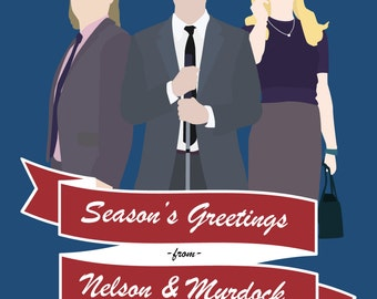 Season's Greetings - Daredevil Notecard