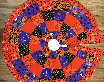 Halloween Tree Skirt/Table Topper  015