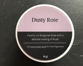 Dusty Rose- Travel tin candle 4oz