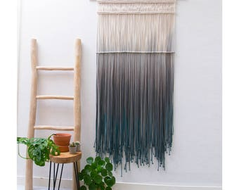 """Large Macrame Wall Hanging - Large Macrame Curtains - Macrame Wall Art - Boho Tapestry for Living room or bedroom - Home decor - """"CASCADE"""""""