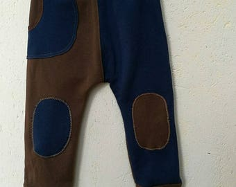 """""""Pantaouel"""" between the pants and harem pants T 3 years old fabric very soft"""