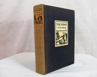 The Forge, T.S. Stribling, Doubleday Doran 1931 Hardcover First Edition, Southern Family Civil War onward First Book in Vaiden Trilogy