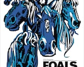 FOALS poster by Shawn Wol...