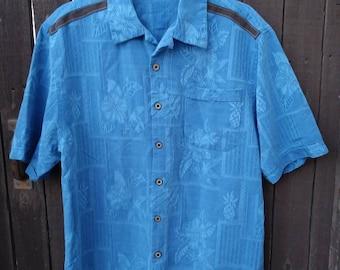 Upstyled Hawaiian Button Up Shirt