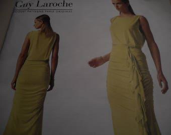 Vogue 1339 Paris Original Guy Laroche Dress Sewing Pattern Size 8-10-12-14-16