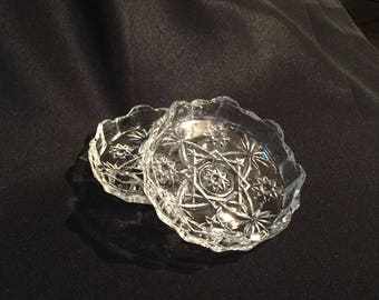 Set of 2 Glass Coasters