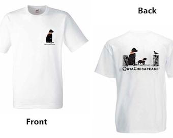 OutaChesapeake® Dock Dog with Puppy T-Shirt