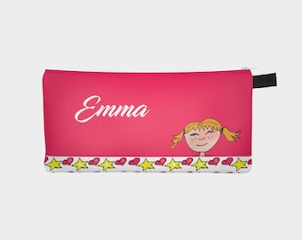 Personalized Pencil Case, Little girl