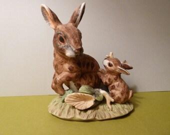 Jack Rabbit Figurine by: J. Byron of Royal Crown