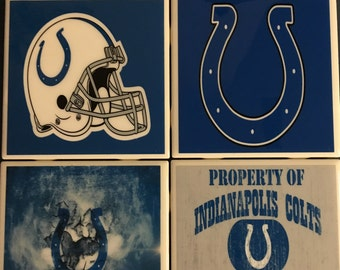 Indianapolis Colts coaster set