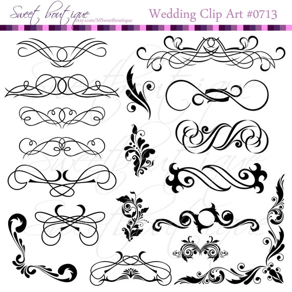 Black calligraphy clip art clipart diy wedding invitation designs black calligraphy clip art clipart diy wedding invitation designs scrapbook embellishment digital frame buy 3 get 1 free clipart 0713 from msweetboutique on stopboris Images