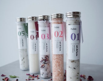 Bath salt organic no03 - pink. 75 ml