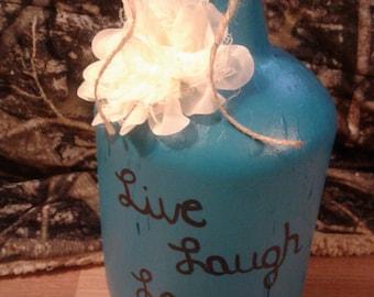 Decorative blue jug