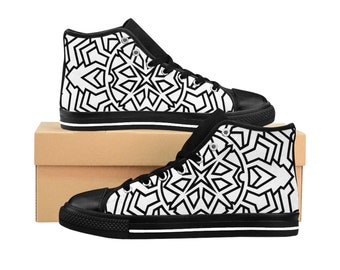 Mens Colorable HighTop Sneakers