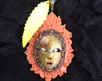 Pendant, Mardi Gras, Carnival, Mask
