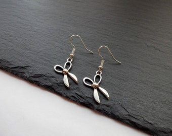 Scissor Earrings, Craft Earrings, Sewing Earrings, Charm Earrings, Hairdresser earrings, Scissors Earrings