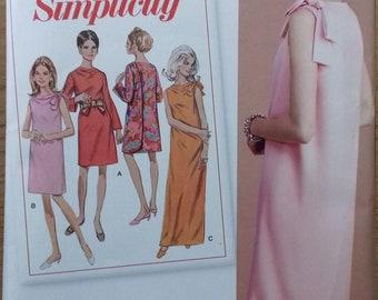UNCUT Simplicity 8049 Misses Back Wrap Dress