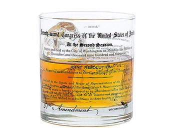 Prohibition 21st Amendment Rocks Glass