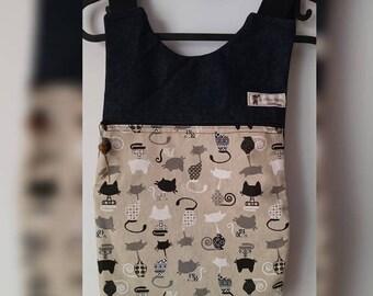 Black Kitten backpack