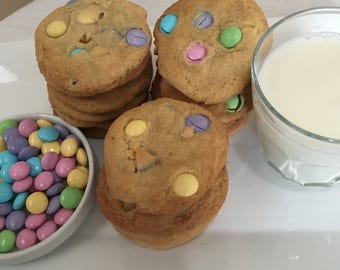 M&M Cookies (TWO DOZEN)
