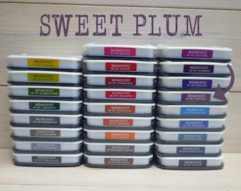 Large MEMENTO  raised dye ink pad SWEET PLUM