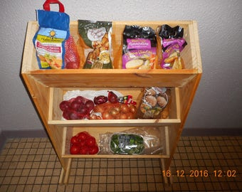 A storage for fruits and vegetables