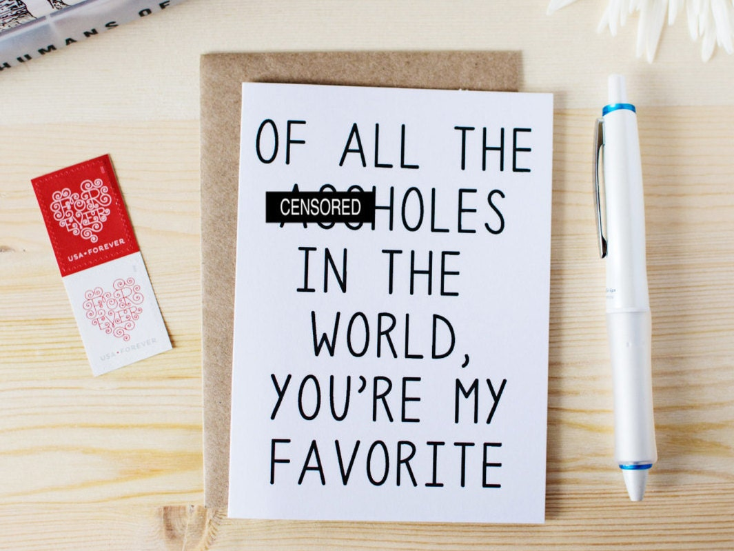 Funny valentines day card birthday card for husband zoom bookmarktalkfo Images