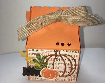 Thanksgiving treat boxes, harvest treat boxes, fall treat booxes 10ct