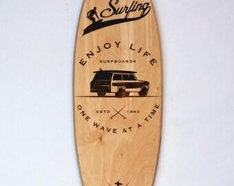Surfboard Sign   Surfboard Wall Decor   Surfboard Wall Art   Surfboard Decor    Surfboard Art