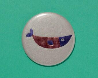 Handbag / pocket mirror Fish