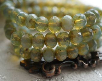 SeaBreeze, Rondelle Beads, Beads, N2261