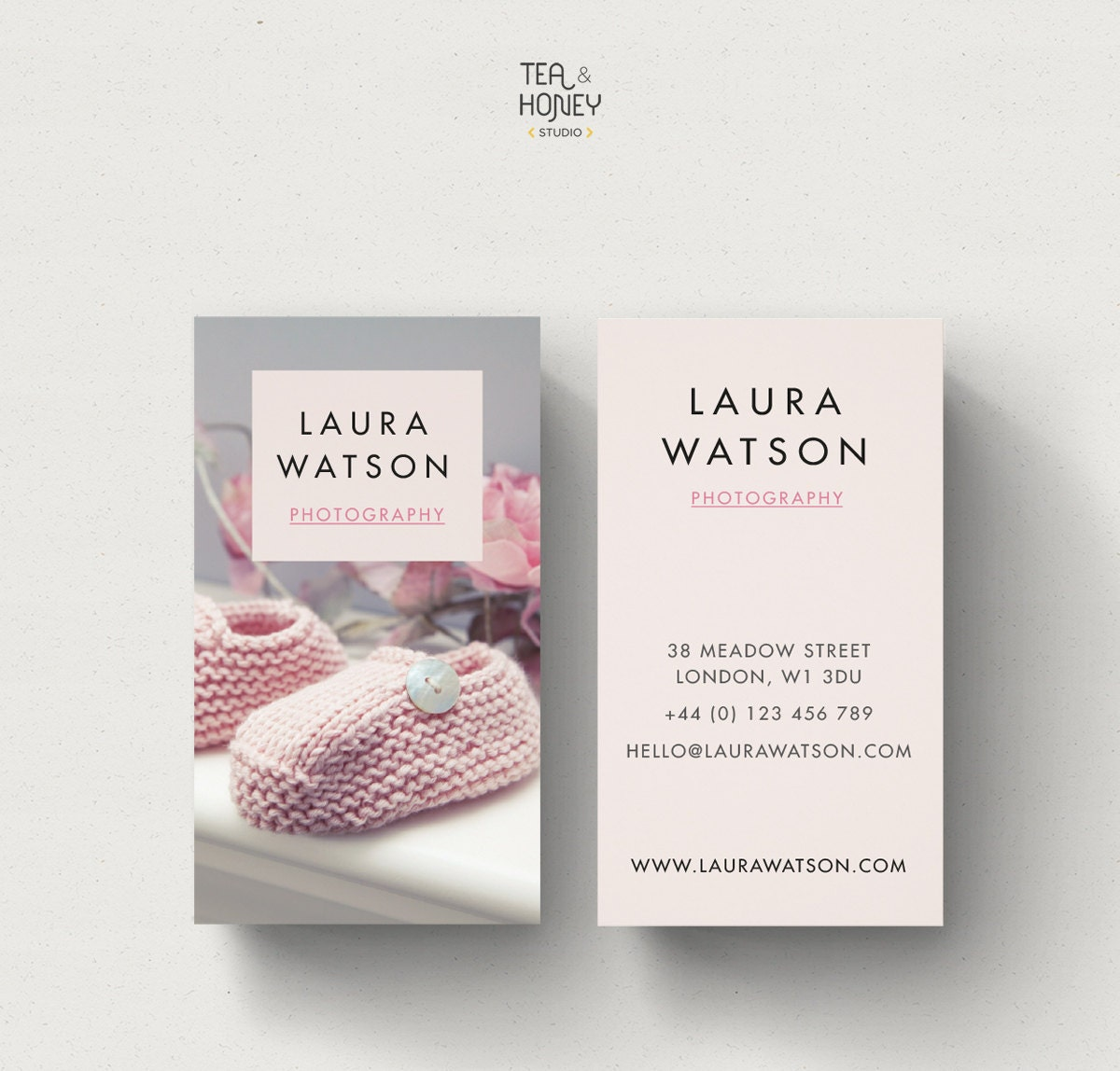 Portrait business card design babysitter business card zoom magicingreecefo Image collections