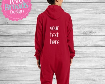 Footie pajamas, adult footie pajamas, adult onesie, Design your own, Bride and Groom Pajamas, His and hers Pajamas