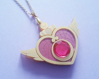 Crisis Moon Compact Necklace or Keyring
