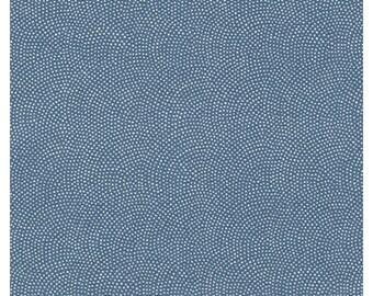 Sevenberry Kasuri Dots - Denim by Sevenberry from Robert Kaufman SB-88220D8-4
