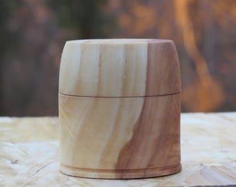 Lidded Wooden Box