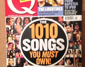 Q Magazine - The 1010 Songs You Must Own - ESSENTIAL MUSIC GUIDE - September 2004
