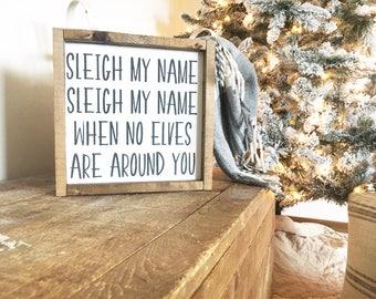 Christmas Sign, Farmhouse Sign, Funny Sign