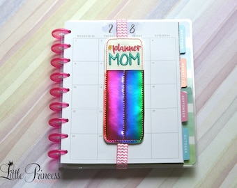 Planner Mom Bookmark, Planner Mom Pen Holder, Mother' Day Gift, Agenda Bookmark, Agenda Pen Holder