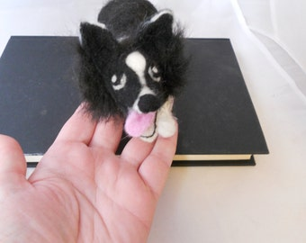 Cute needle felted model of your cat or dog - medium size