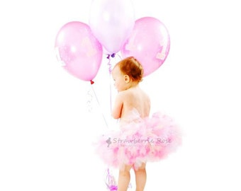 Pink Birthday Tutu Skirt