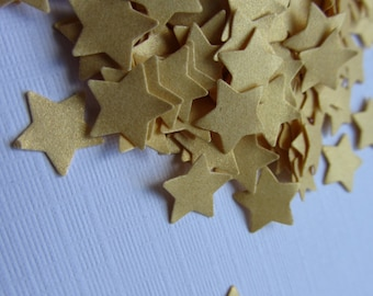 Gold Wedding confetti Stars confetti Gold Wedding star confetti birthday shower confetti golden stars