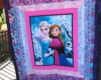 Anna & Elsa quilt