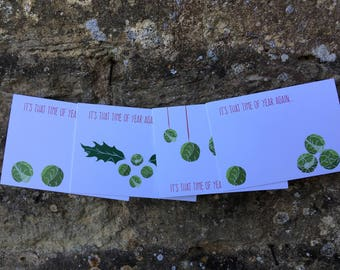 SPROUTS // Christmas Card  // 4 Pack