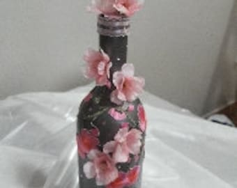 Personalized Cherry Blossom Bottle