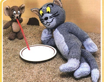 tom and jerry toy dk knitting pattern 99p pdf