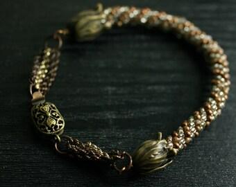 Crotchet Tube Bracelet